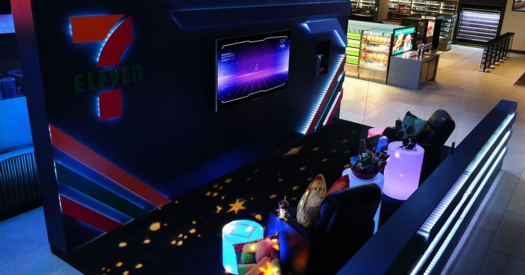 This Seven-Eleven wants to spend the night with a completely new game