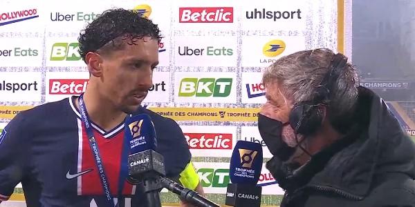 """Marquinhos : """"On aime bien jouer les matches comme ça"""""""