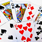 Where do the clubs, hearts, diamonds, and spades on playing cards come from?