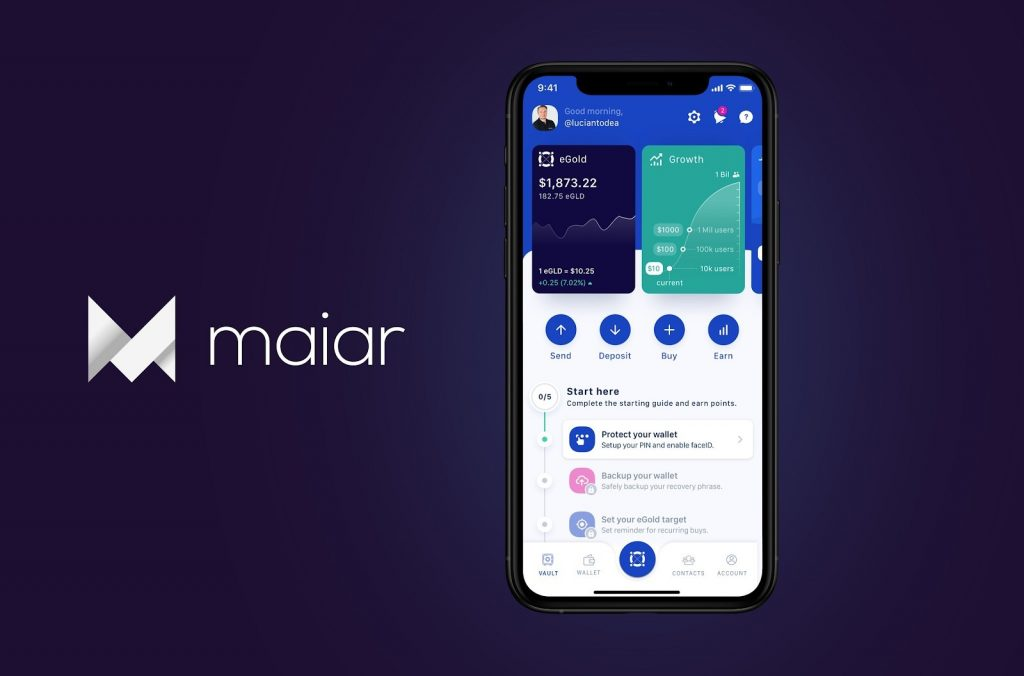 Elrond launches Maiar, its mobile wallet and payment application