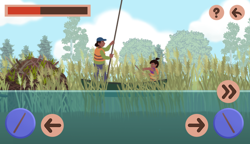 Students create video games to teach and maintain the Ojibwe tradition