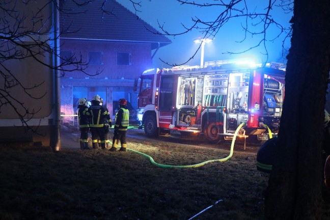 Basement fire at Sattledt ensures fire department is deployed
