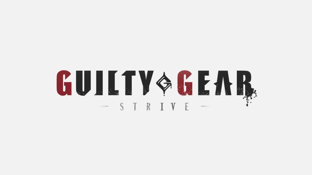 Guilt Gear Strive logo