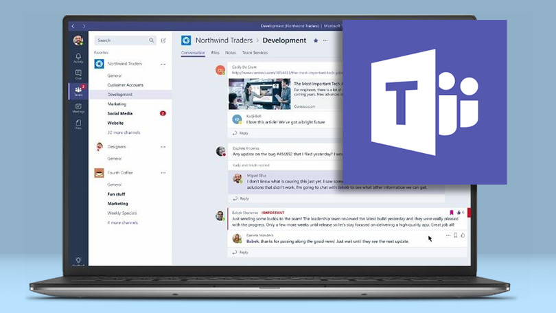 """6 new Microsoft features in the """"Teams"""" app"""