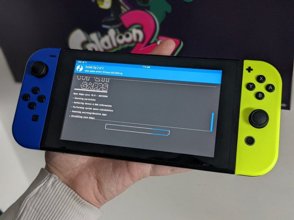 Android 10 runs on Switch with Joy-Con support thanks to an unofficial ROM