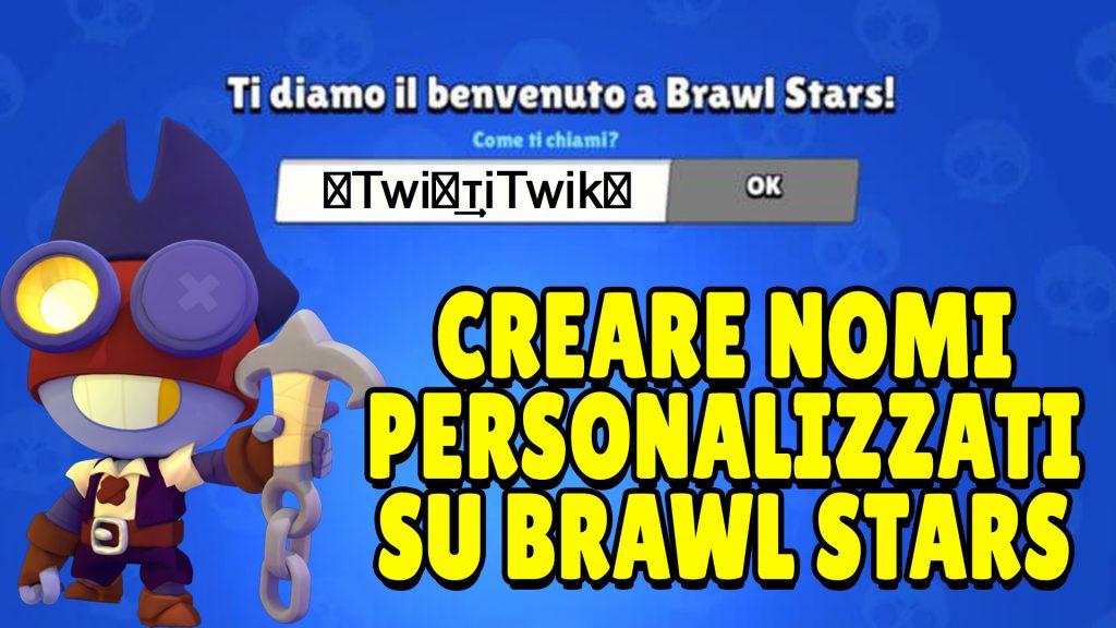 How to create custom Brawl Stars names