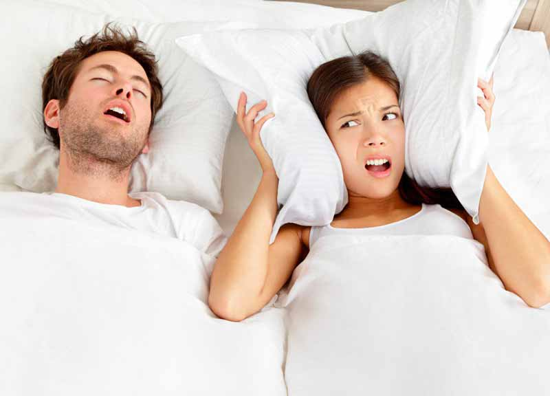 How to stop snoring?  With a (small) electric shock under the tongue