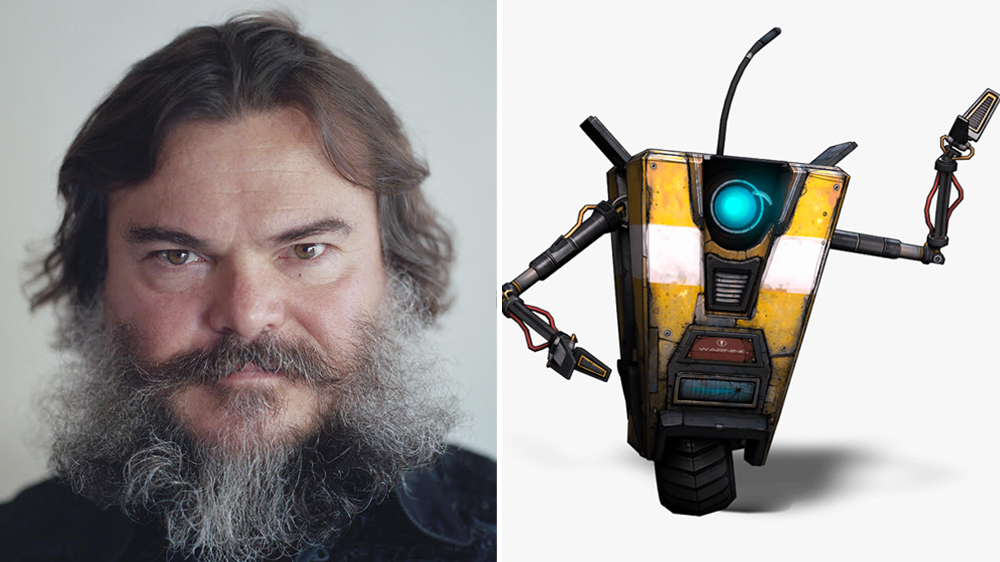 "Jack Blackcast from the ""Borderlands"" movie"