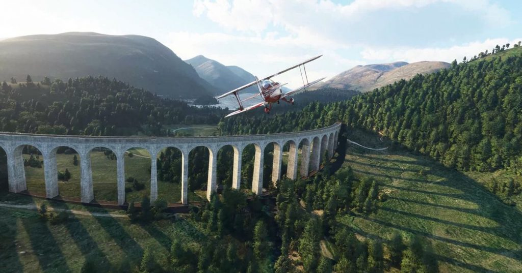 Microsoft Flight Simulator Updates UK and Ireland Today