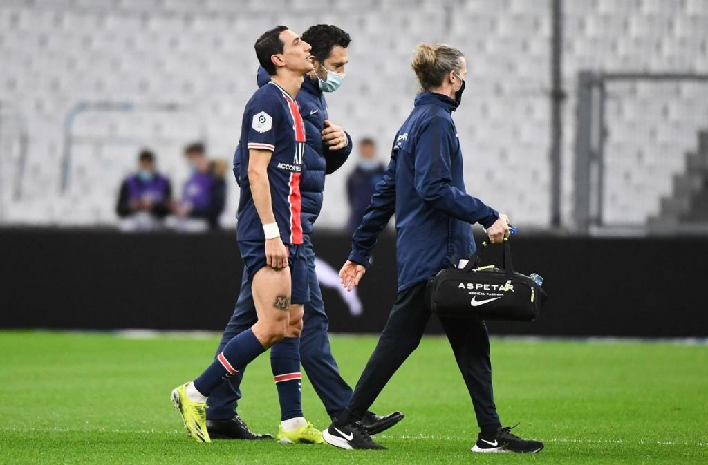 PSG: Is Angel Di Maria too fair to play against Dijon?