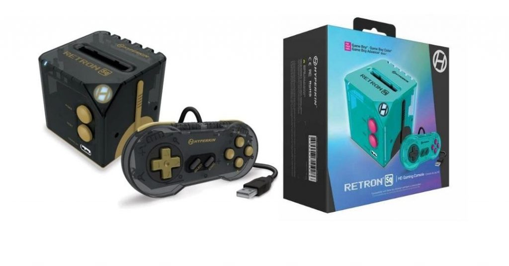 RetroN Sq is a cubic console for playing Game Boy titles on your TV.