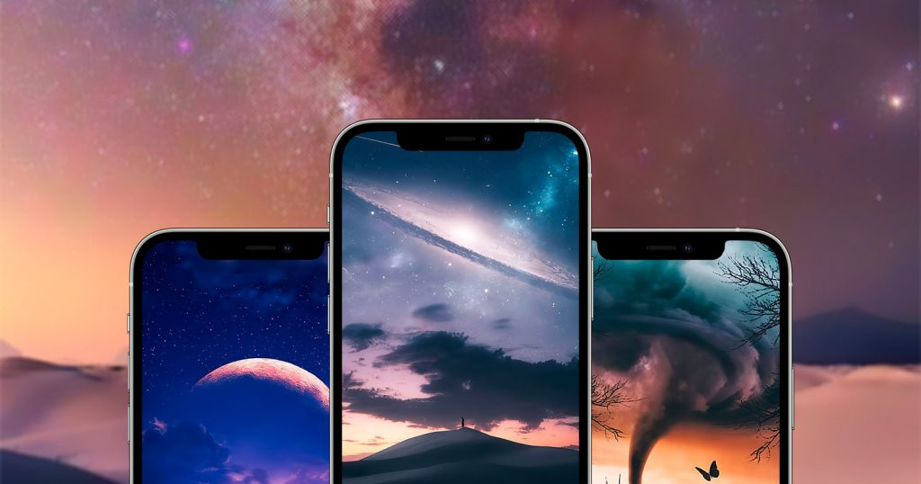 These fantastic landscape iPhone wallpapers are amazing