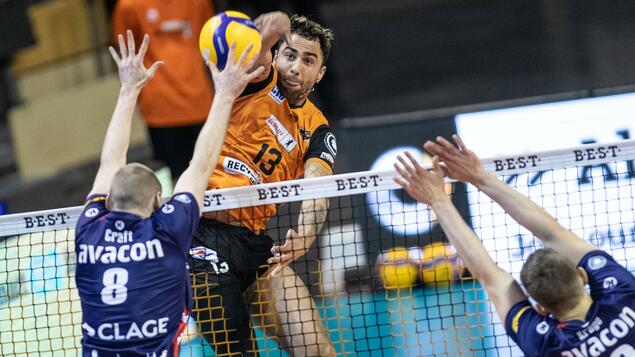 Volleyball Bundesliga 3-1 victory: BR Volleys wins derby at Netzhoppers - Sport