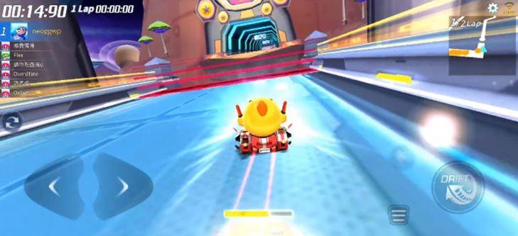 Speed increases KR R +