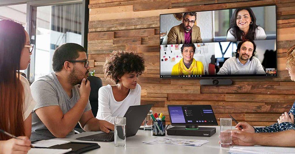 Lenovo ThinkSmart Hub and ThinkSmart View - Collaborative Work