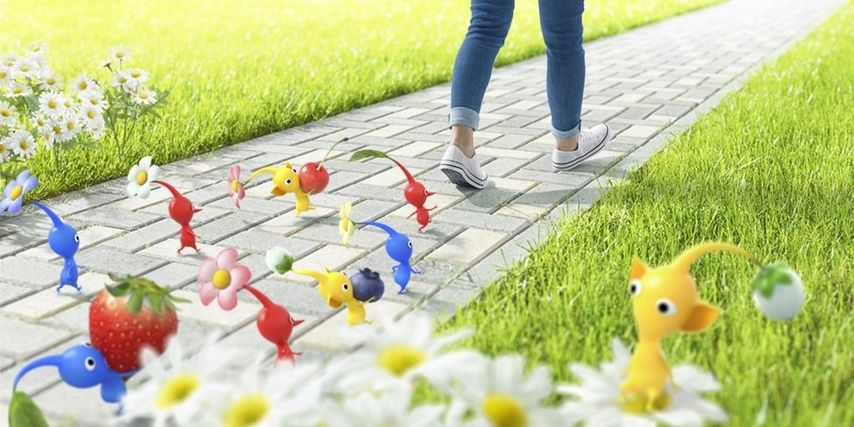 Pikmin AR mobile game now in early access in Singapore