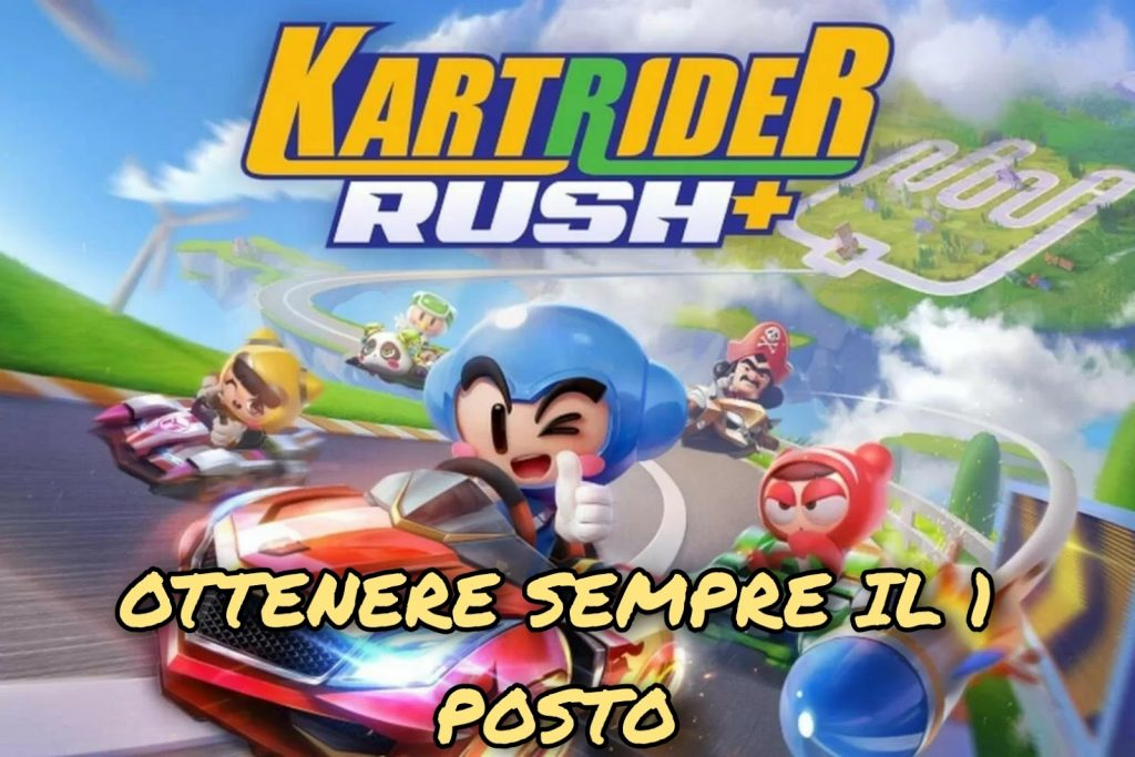 Tips and tricks to get first place in all KartRider Rush + races