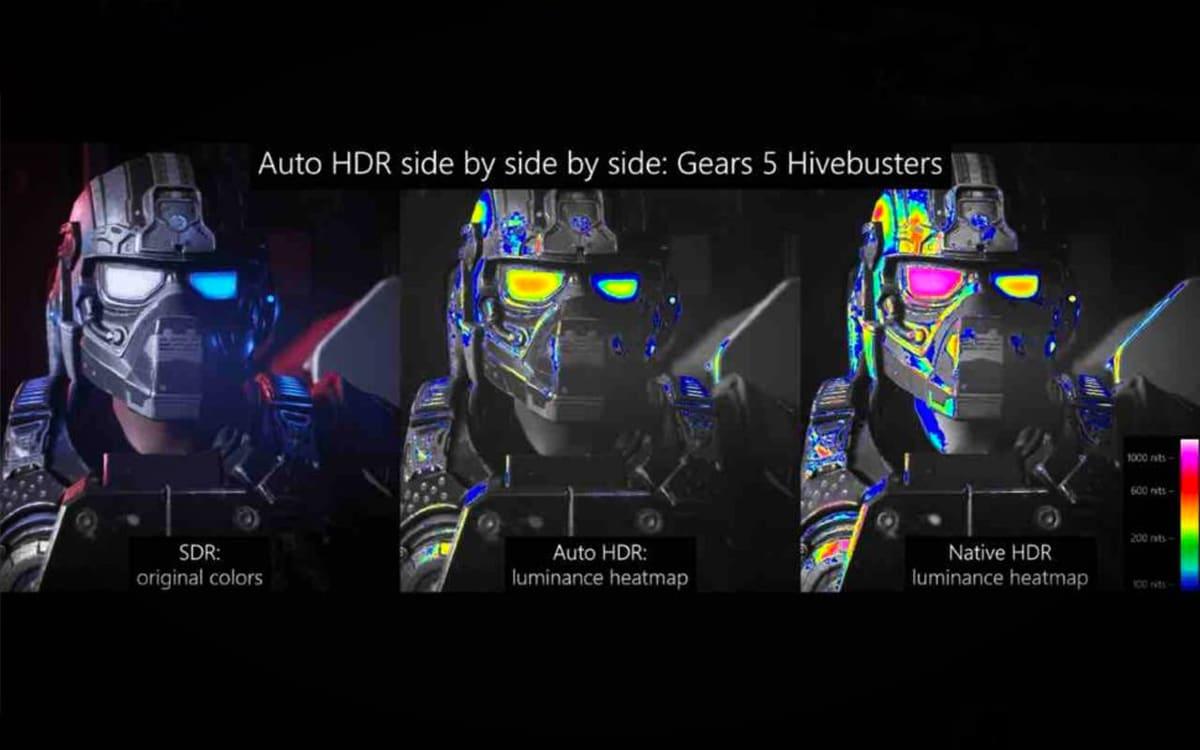 Auto HDR Windows 10