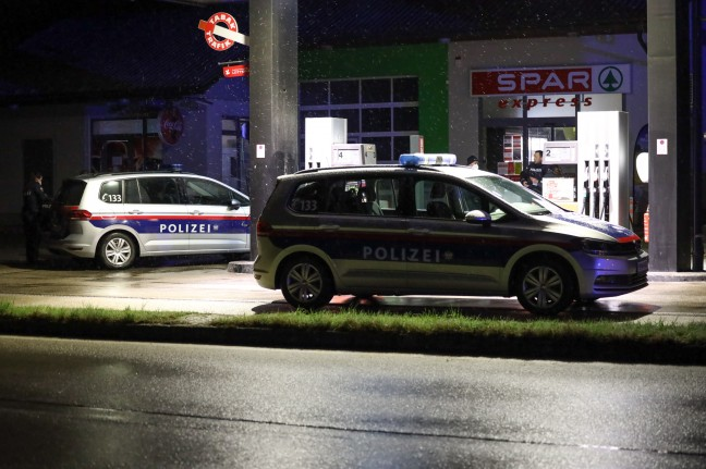 Shooting in case of robbery: Large-scale police operation in Sipbachzell at night