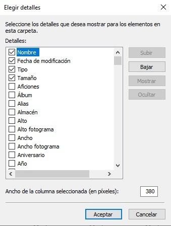 Organize in Windows