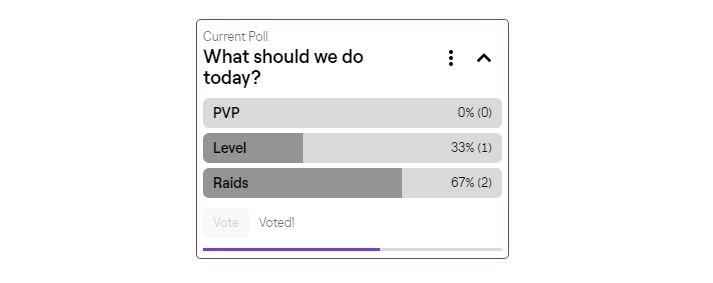 Vote Twitch polls