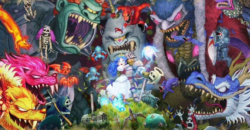 """The latest work in the """"Devil Village"""" series """"Classic Return to Devil Village"""" announced that it will release the multiplatform version for PS4 / Xbox One / PC of """"Ghosts'n Goblins Resurrection""""."""