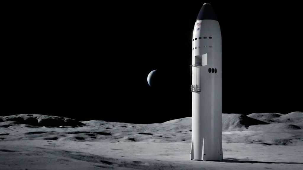 SpaceX wins contract with NASA to get humans to the Moon