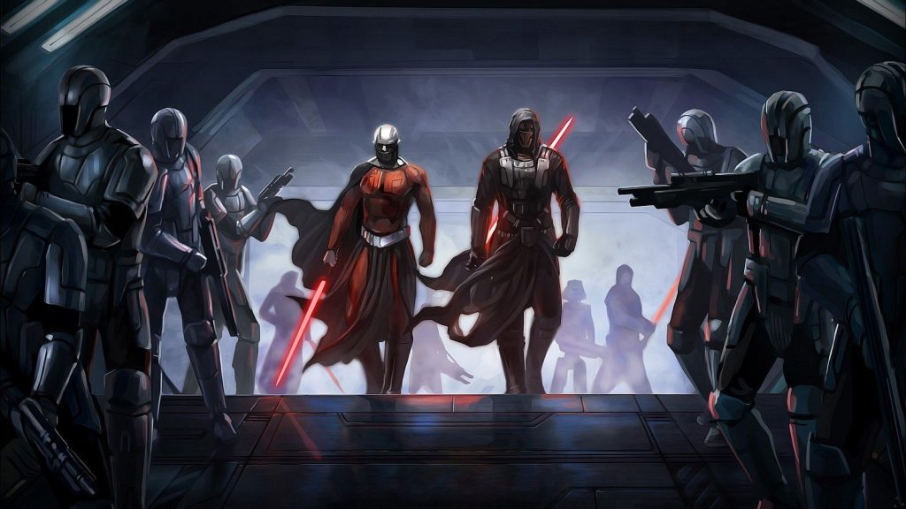 Knights of the old republic remake héros