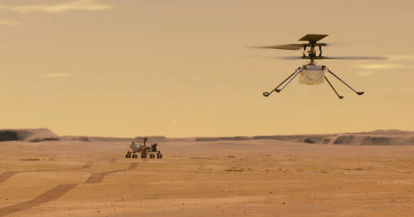 The glider-helicopter that flew over Mars now has the hardware of a 7-year-old smartphone
