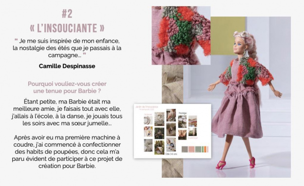 ESMOD students revisit Barbie doll: the downloadable lookbook
