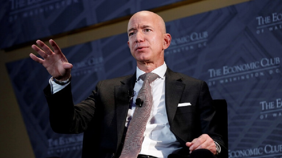 Billionaire Bezos is challenging the award decision