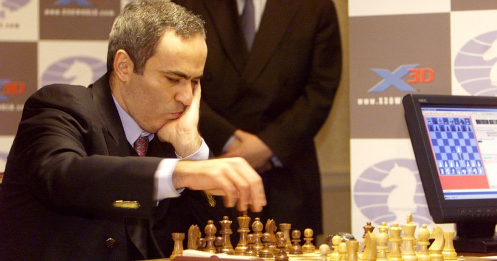 After seeing its impact during the pandemic, world champion Kasparov embraces the technology and introduces his own chess platform.