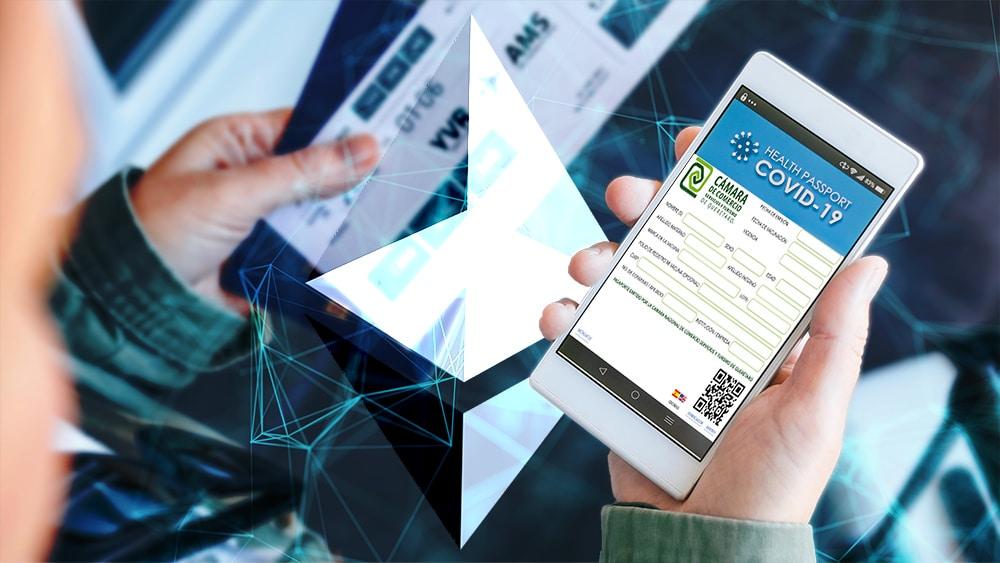 pasaporte digital vacunación covid 19 blockchain ethereum