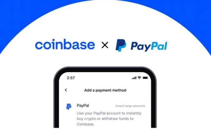 Coinbase integrates with PayPal - 1Informer