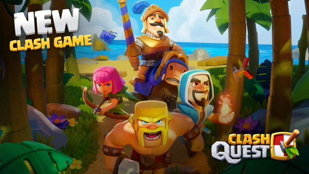 How to download Clash Quest on Android and iOS using the VPN