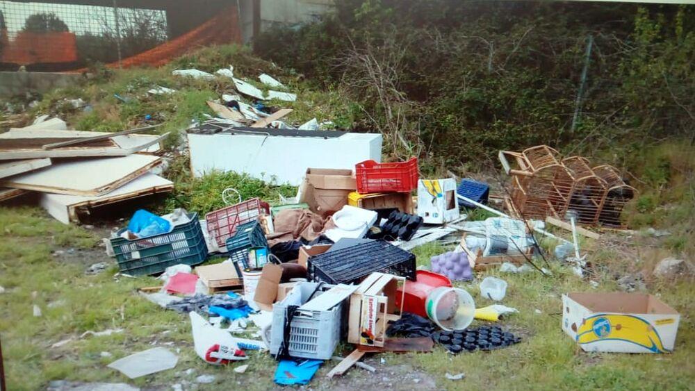Illegal landfill in Tivoli Terme: 52 years old