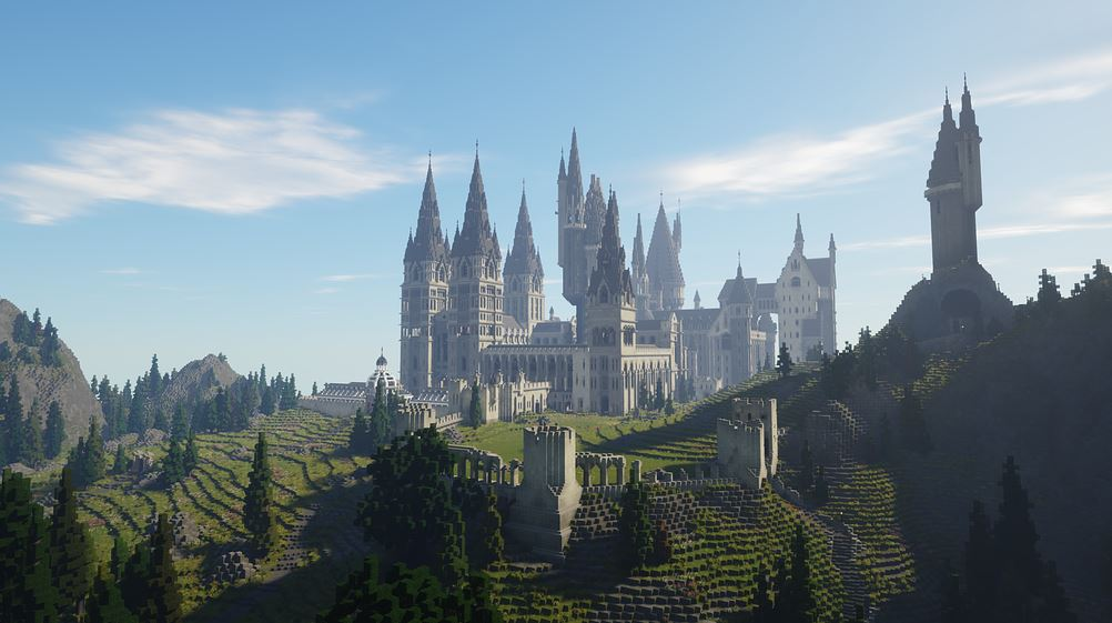 Minecraft Harry Potter: server, map and mod, where to find them?  - Breakfast