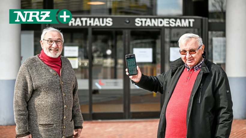 """Now there is the """"Well supplied"""" app also in Kamp-Lintfort"""