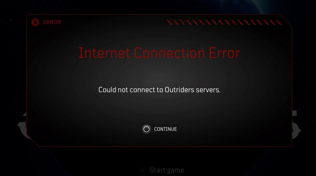 Outriders suffer connection problems on launch day • Eurogamer.net