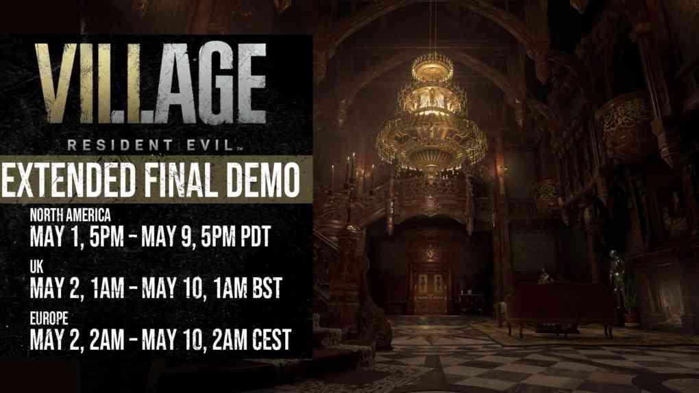 Resident Evil 8 Village demo verlaengerung