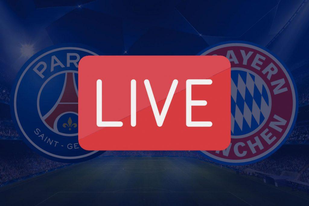 Streaming PSG Bayern Munich Ligue des Champions