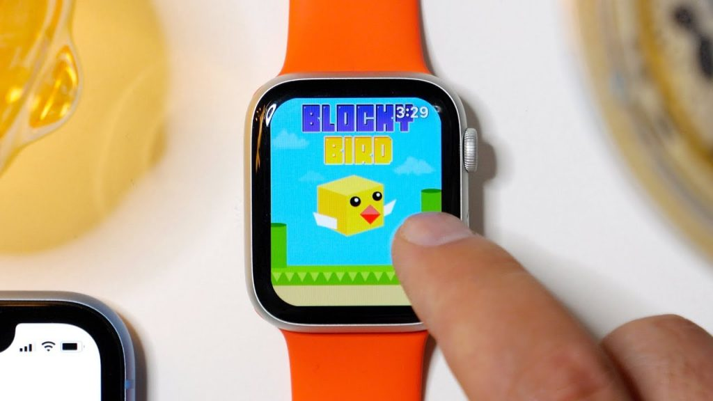 game on an Apple Watch