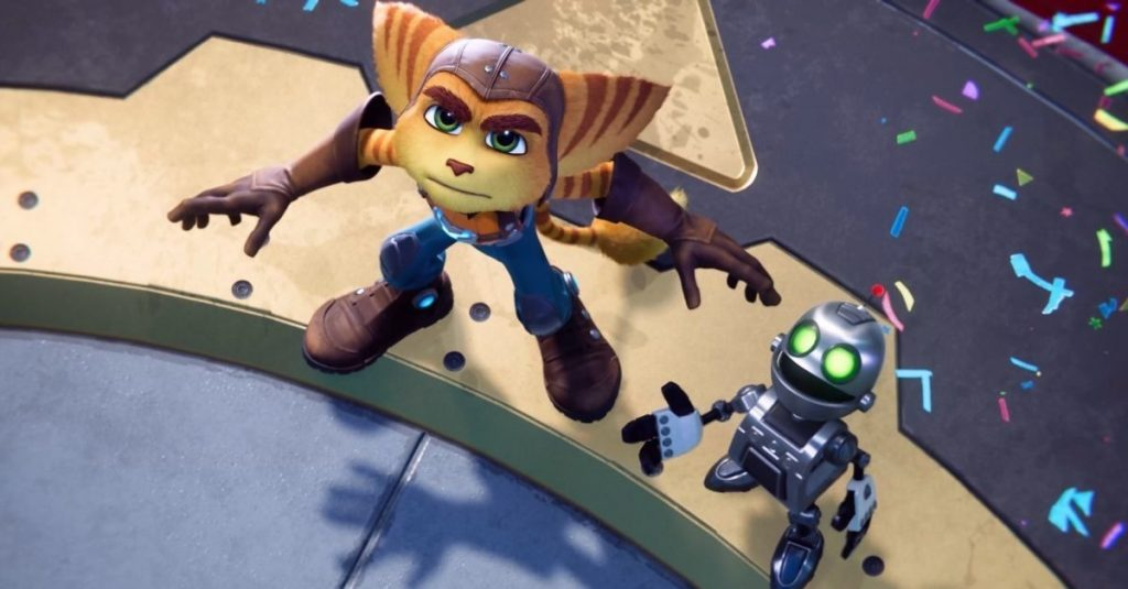 """""""Ratchet & Clank: Cut and Split"""" launches a new level """"Ratchet & Clank: Rift Apart"""" with commentary from the creative director and a game demo showing the size of the shuttle."""