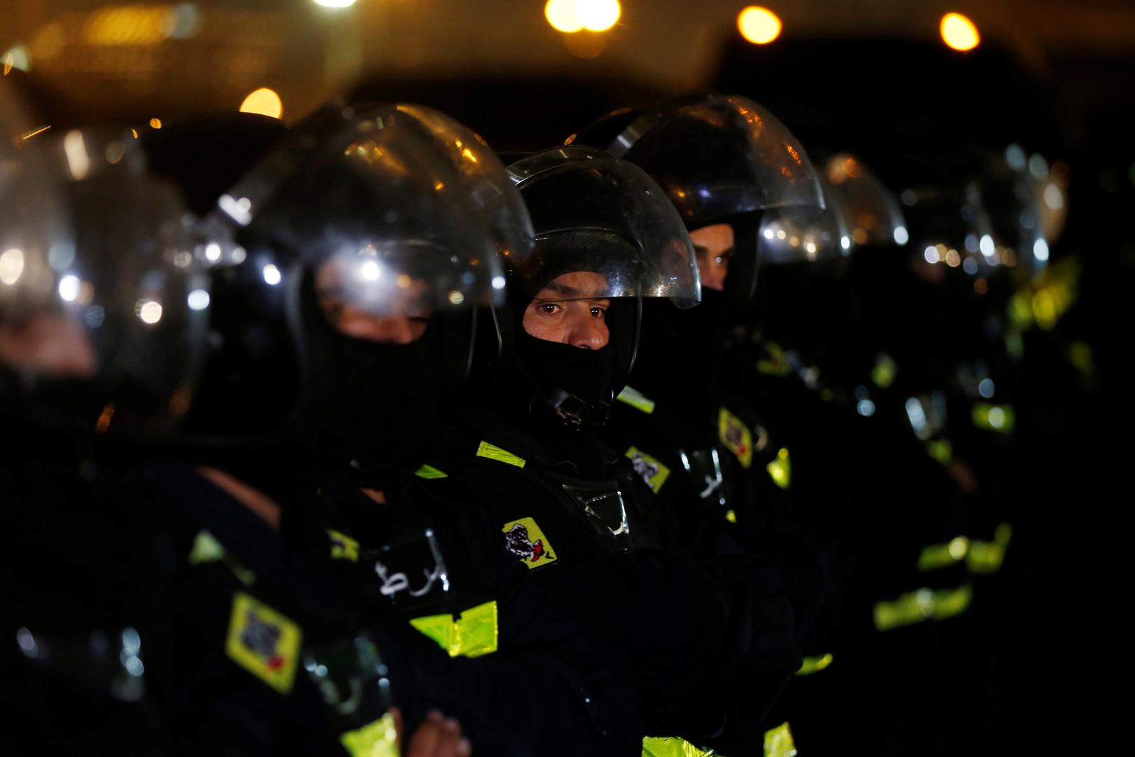Jordan.  Arrest of an officer and policemen