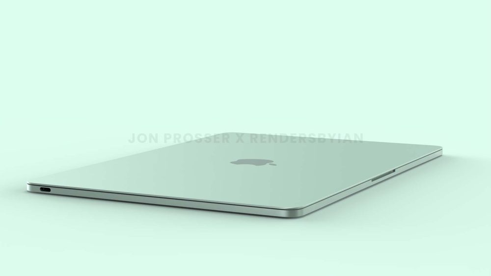 The new MacBook Air comes out in a colorful iMac design - Photo 2.