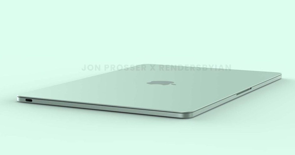 """The new MacBook Air has a """"colorful"""" design similar to that of an iMac"""