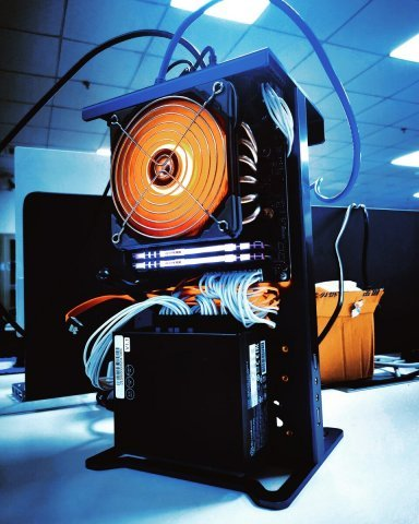 AMD gaming computers with miniature desktop hardware