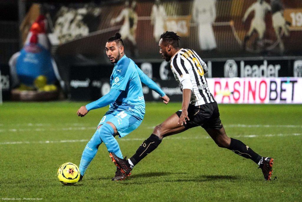 Dimitri Payet et Souleymane Doumbia, match Angers - Olympique de Marseille