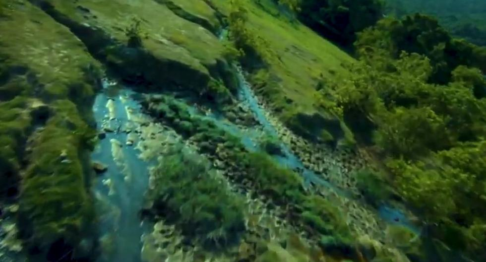 Viral video |  The landscape video obtained by a drone that has astonished hundreds on the networks |  YouTube |  trends |  trending |  trends |  nnda nnrt |  OFF SIDE