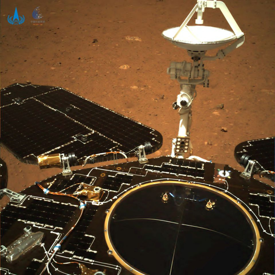 The truth about Chinese robots landing on Mars - Photo 2